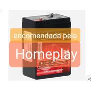 Bateria 6v/4.5ah Original Homeplay
