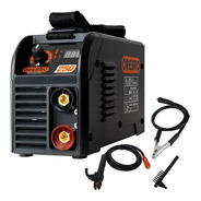 Soldadora Inverter Electrica 200 Amp Orebro + Pinzas Cepillo