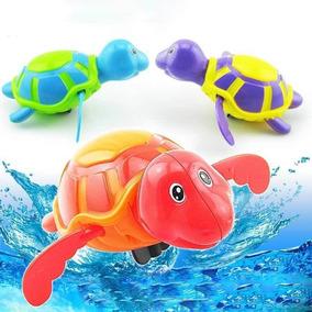Tartaruga Aquática De Brinquedo A Corda
