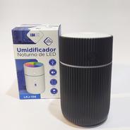 Umidificador De Ar Ultrassônico Aromatizador Preto Lkj-156
