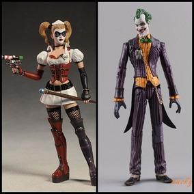 Harley Quinn Batman Arkham Dc Collectibles + Joker Bootleg