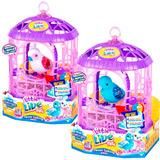 Pajarito Con Jaula Little Live Pets Canta Y Repite - 28251