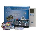 Kit Controle Remoto Com Placa Universal Ar Split 220 Volts