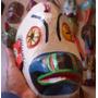 Artesanía Guatemalteca Maya Tallada Madera 30x35 Panajachel