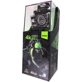Camara De Accion 4k Ultra Hd Mobo Con Accesorios