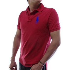 Playeras Polo Ralph Lauren Classic Y Custom Fit Varios Color