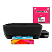Impresora A Color  Multifunciónal Hp Ink Tank 315 Negra 110v