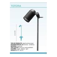 Jabalina Piso Totora Direccional Led Aluminio Gu10 Aluminium