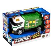 Camión De Reciclaje Con Luz Y Sonido Teamsterz - Original