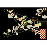 Skin Washburn Dime 332-gaf Dimebag Adesivo Guitarra