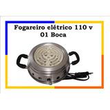 Fogao Fogareiro Eletrico 1 Boca Portatil Camping 110v