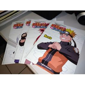 Revistas (fascículos) Naruto Shippuden - Planeta Deagostini