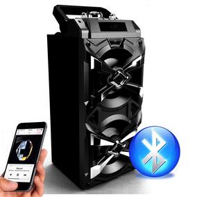 Caixa Caixinha Som Portátil Bluetooth Mp3 Usb Cartão Fm E4