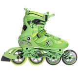 K2 Skate Homens V02 100 X Pro Patins Em Linha, Verde/amarelo