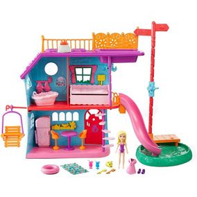 Playset - Casa De Férias Da Polly Pocket - Mattel Fch21