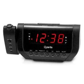 f8971cd5d41 Despertador Digital Am fm Com Projetor De Horas Preto Cr 308 ...