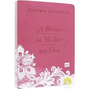 Bíblia De Estudo Da Mulher Que Ora Grande - Stormie Omartian