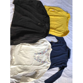 Lote Remeras Gap Forever Zara All Saints Talle 4/5