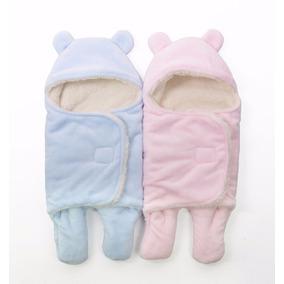 Manta Abrigo Mameluco Cobertor Para Bebé 0 A 6 Meses