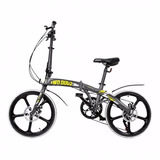 Bicicleta Aluminio 20 Dobrável Pliage Alloy Two Dogs Shimano