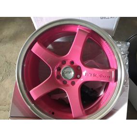 Roda Gisa Modelo 391 Aro 17 Rosa Para Pintar