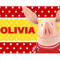 Kit Imprimible Candy Bar Olivia Disney Golosinas Y Mas