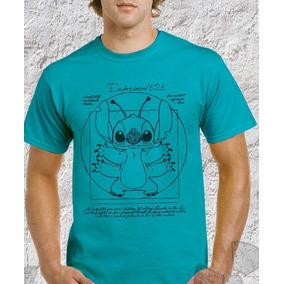 Camisas Camiseta Lilo Sticht Vitruviano Leonardo Da Vinci