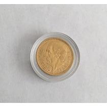 Moneda Centenario Oro Dos Y Medio Pesos Fecha 1918 Escasa