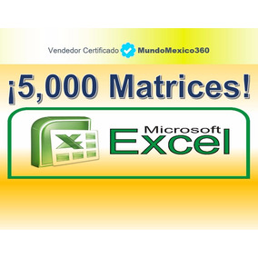 5000 Matrices Análisis Precios Unitarios Excel Febrero 2018