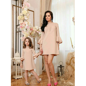 Vestidos A La Moda Madre E Hija