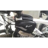 Bolso Negro Doble Marco Cuadro Bicicleta - Triangular
