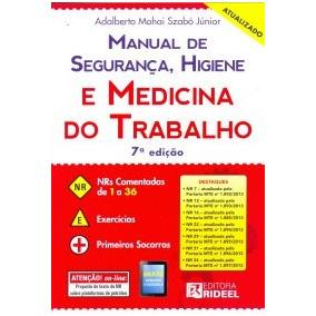 Manual De Segurança, Higiene E Medicina Do Trabaho