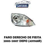 Faro Derecho Ford Fiesta 2005-2007 Depo