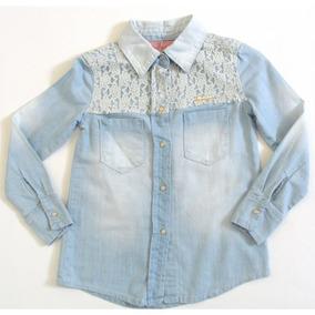 Camisa Jeans Pituchinhus Ref: 4757