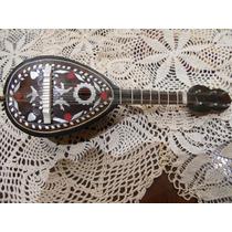 Antiguo Mandolina Musical A Cuerda