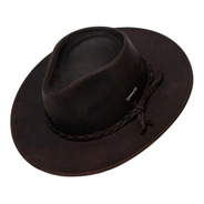 Sombrero Lagomarsino Australiano  Cuero Engrasado