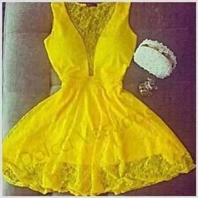 Vestido Renda Rodado