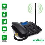 Telefone Celular Fixo Rural 3g Com Bina Intelbras Cf 6031