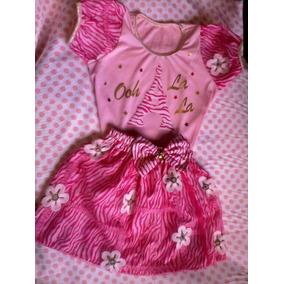 Conjunto Para Niñas Animal Print Pink 4/6/8