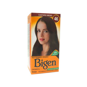 Bigen Tinte Cabello Sin Amoniaco Tono Castaño Medio 46 Lm