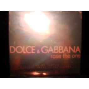 Perfume Rose The One De Dolce Gabanna Original Traido De Us
