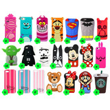 Case Capa Capinha Silicone Iphone 5/5s/5c/se/6/6s/7/plus 3d