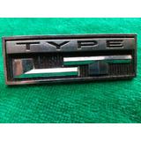 Emblemas Type Lt Camaro 73 Chevrolet Gm Original