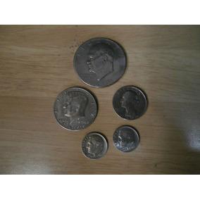 Paquete De Monedas De Dollar Antiguas!!