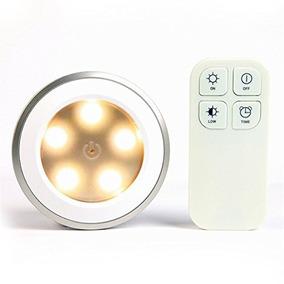 Redgo De Control Remoto Inalámbrico De Luz 5 Led Lámpara D