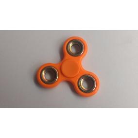 Fidget Spinner Colores Naranja Neon Envío Gratis