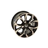 Llanta De Aleacion Replica Audi Rodado 15 4x100 Ra Negro