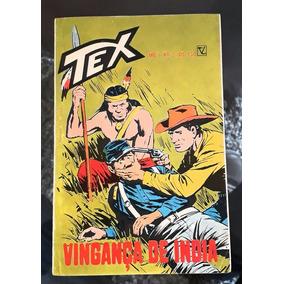 Tex N° 02 Vingança De Índia 1° Ed. Excelente Original!