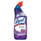 Lysol Desinfectante Líquido Limpiador Lavanda Inodoro 750ml