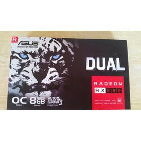 Rx 580 Tarjeta De Video 8gb Asus Dual Oc Nueva A Estrenar